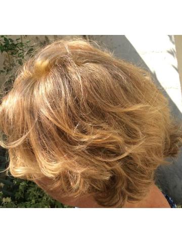 Photo de Harmonie et Création * Le résultat peut-être différent suivant votre type de cheveux.